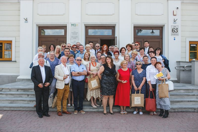 zdjęcie osób na konferencji w Siedlcach