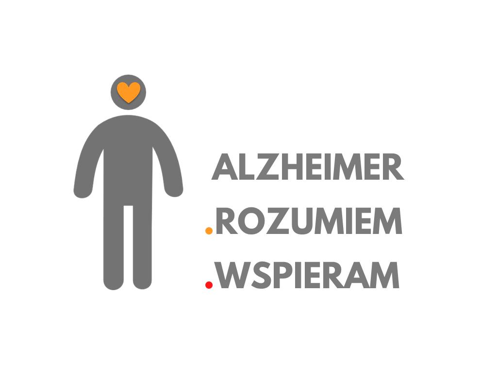 Logo akcji Alzheimer RozumiemWspieram